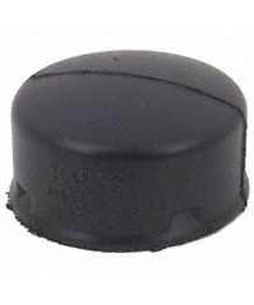 Single Wall Heavy Duty Solid Snap End Cap, 4 in ID