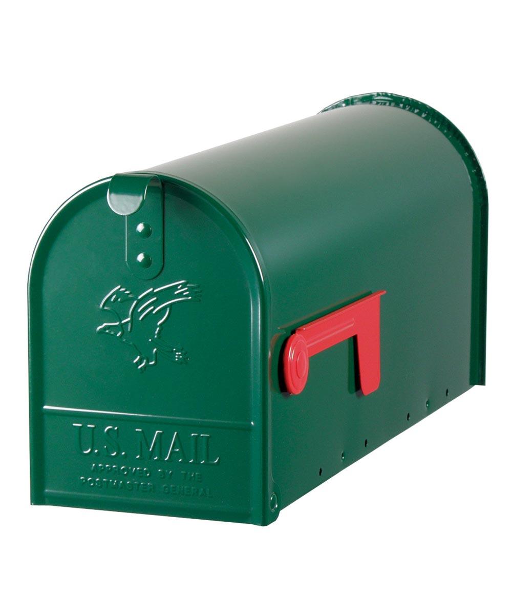 Green Elite Premium Steel Mailbox