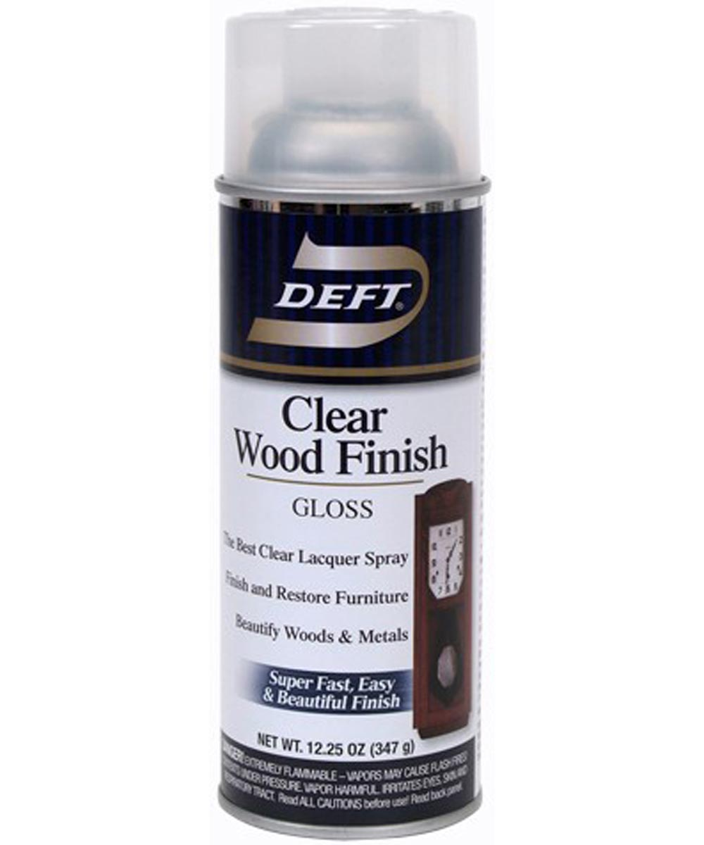 13 oz. Gloss Clear Wood Finish