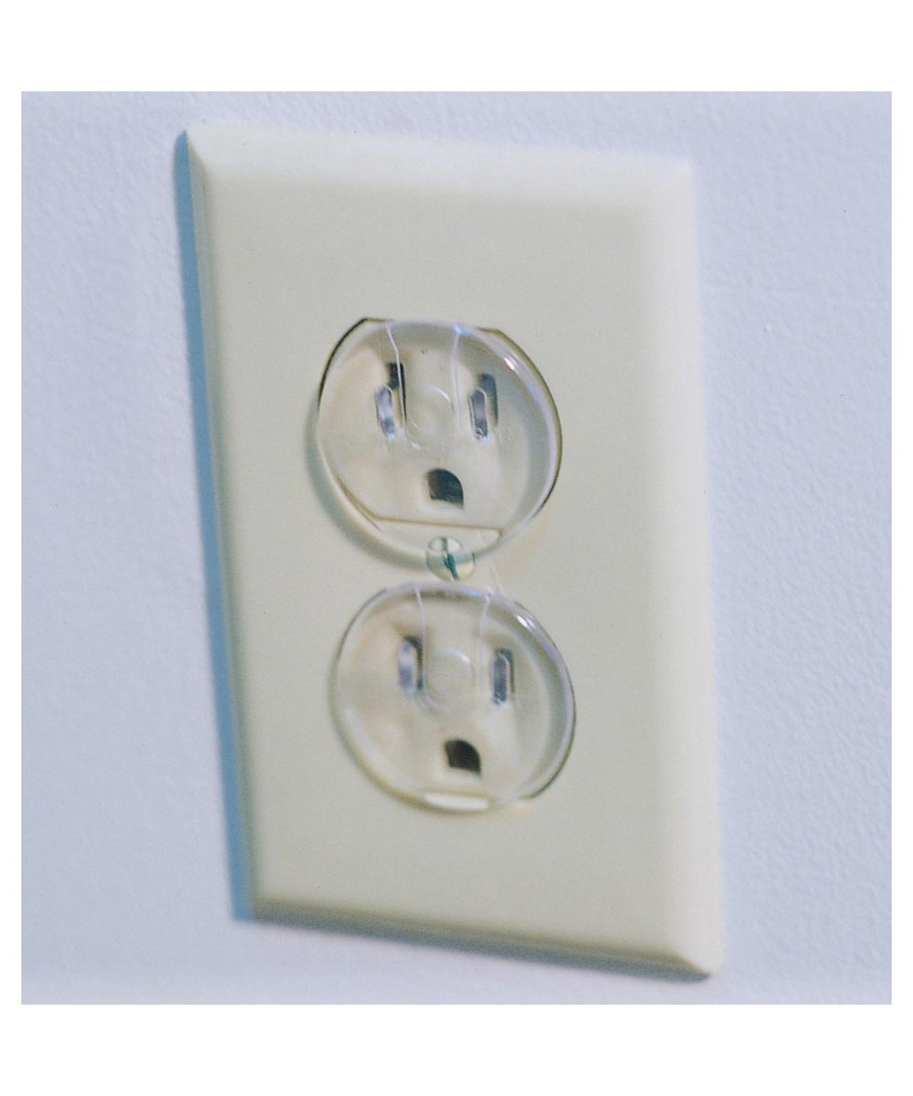 Safety 1st Clear Outlet Plugs, 12 Count