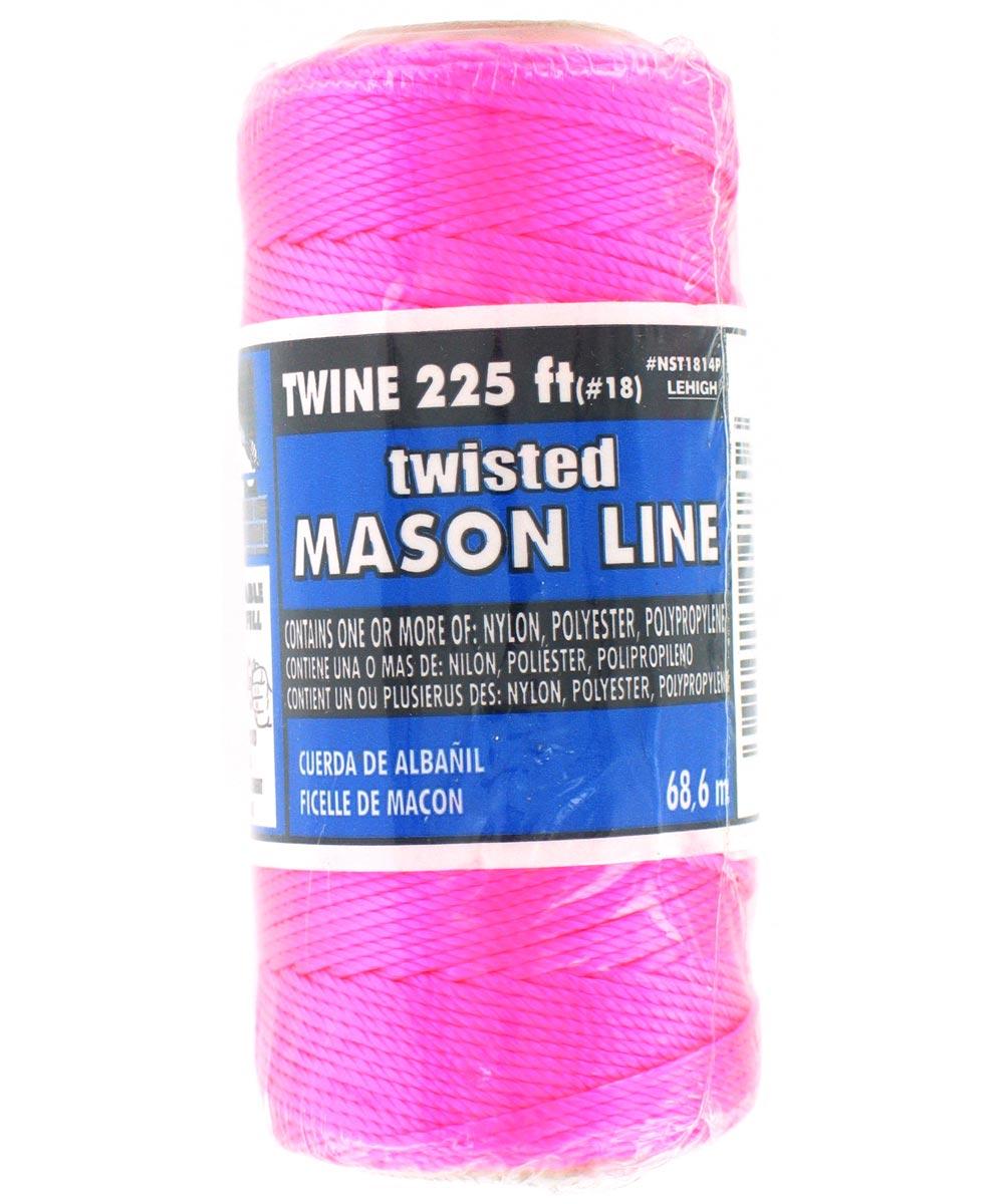 225 ft. Neon Pink Nylon Seine Twine