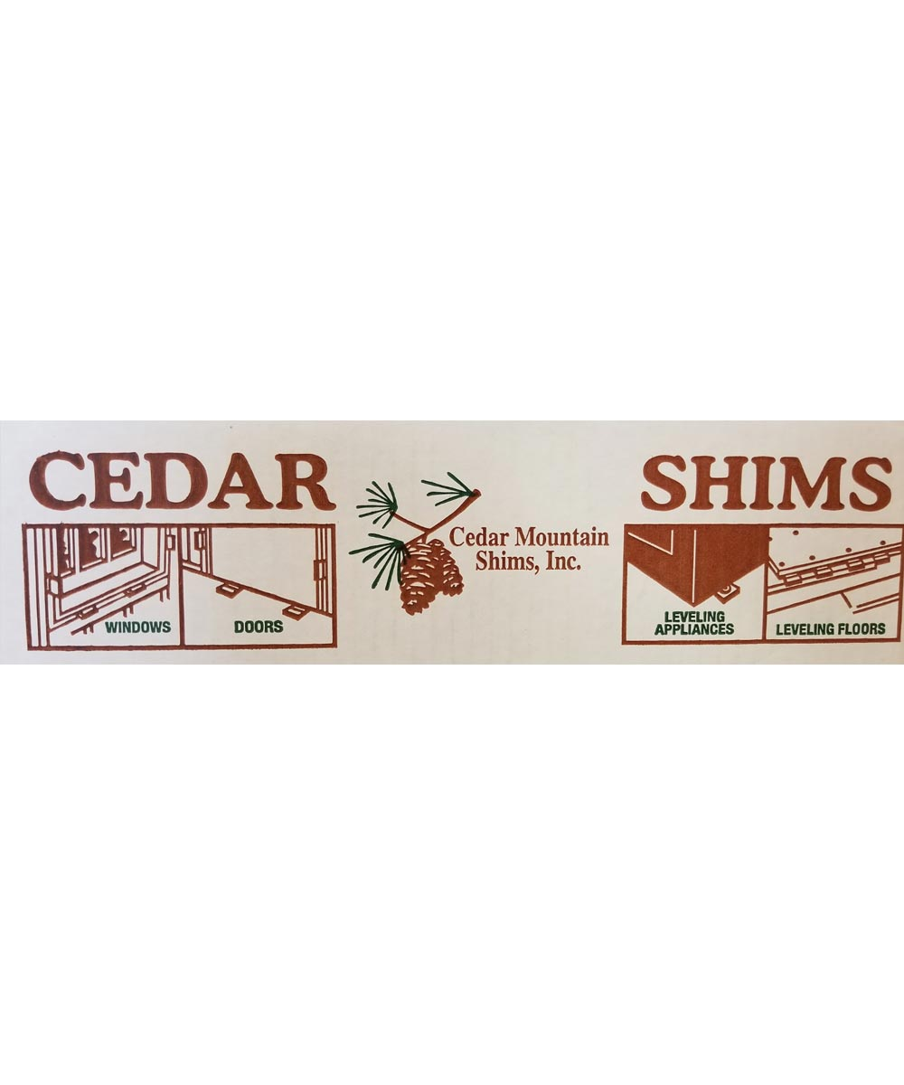 Cedar Shims 9 in. x 1.5 in.