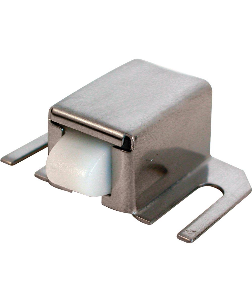 Shower Door Catch, Nylon Tip, Stainless Steel Housing, Adjustable, Pack of 1