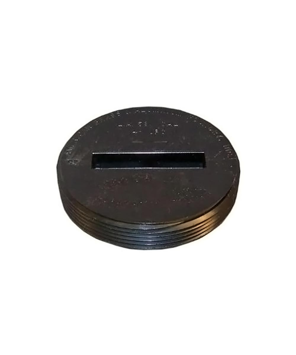3 in. ABS Cleanout Plug, Countersunk- MIP