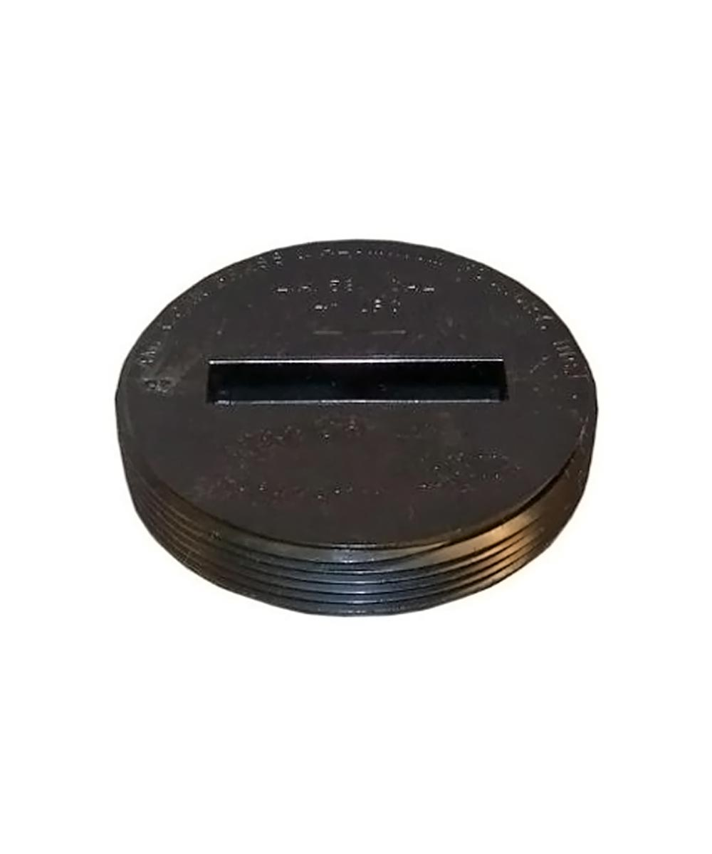4 in. ABS Cleanout Plug, Countersunk- MIP