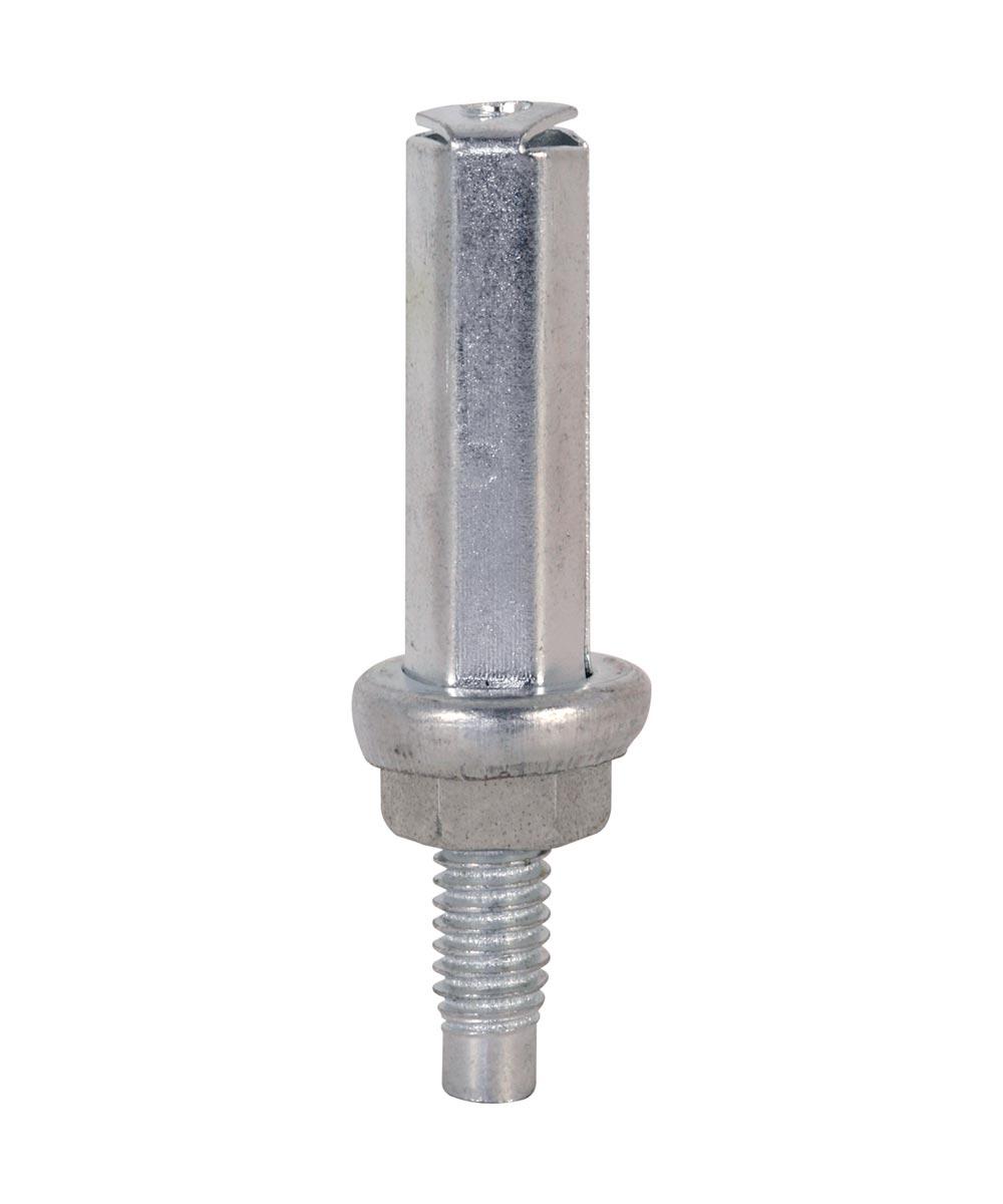 Bi-Fold Door Bottom Pivot, Acme, Cox, Steel base, 2 per package.