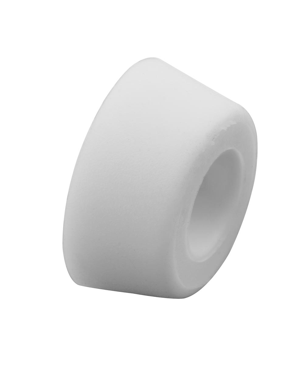Anti-Slam Protective Bumpers, White Rubber, 4 per package