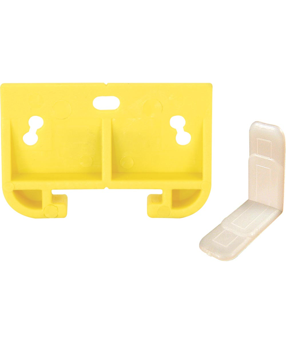 R 7154 Drawer Guide Metal Track, Yellow,(Pack of 2)