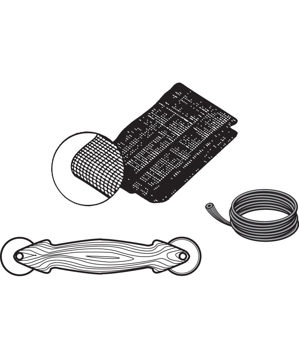 48 in. x 84 in. Screen Door Repair Kit, Charcoal Fiberglass
