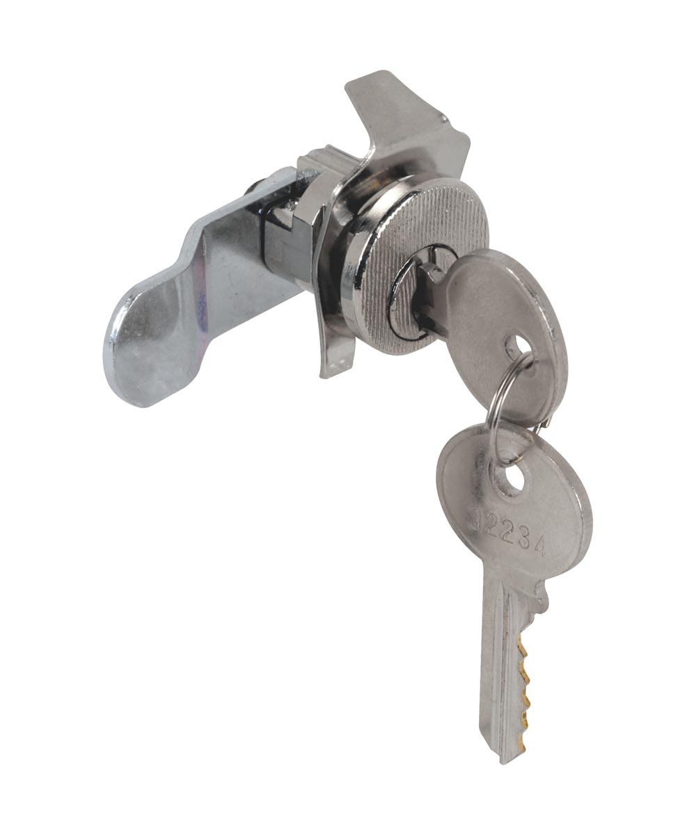 5 Pin American Device Counter Clockwise Mail Box Lock, Nickel Plated