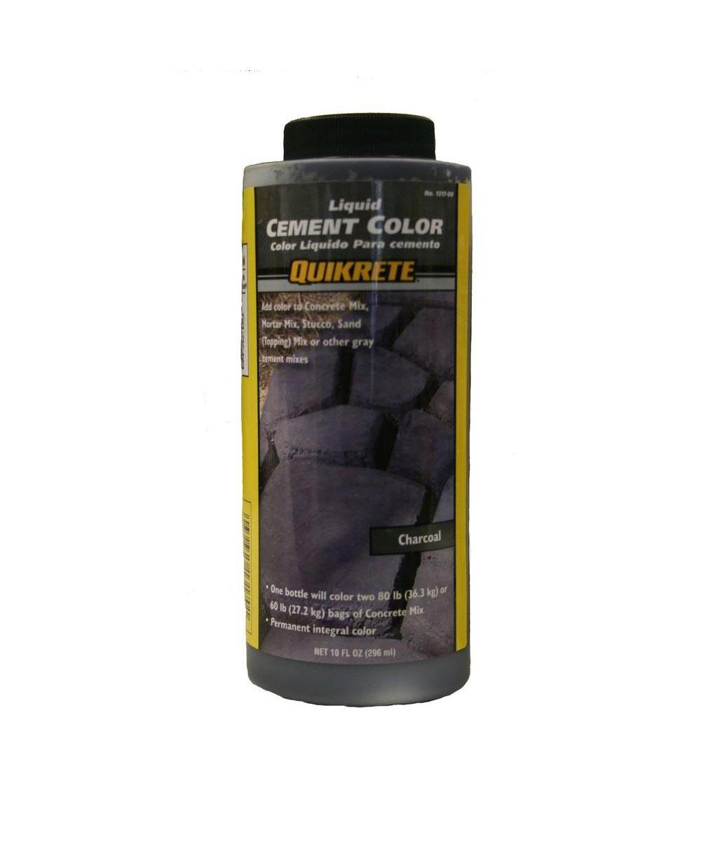 10 oz. Liquid Cement Coloring, Charcoal