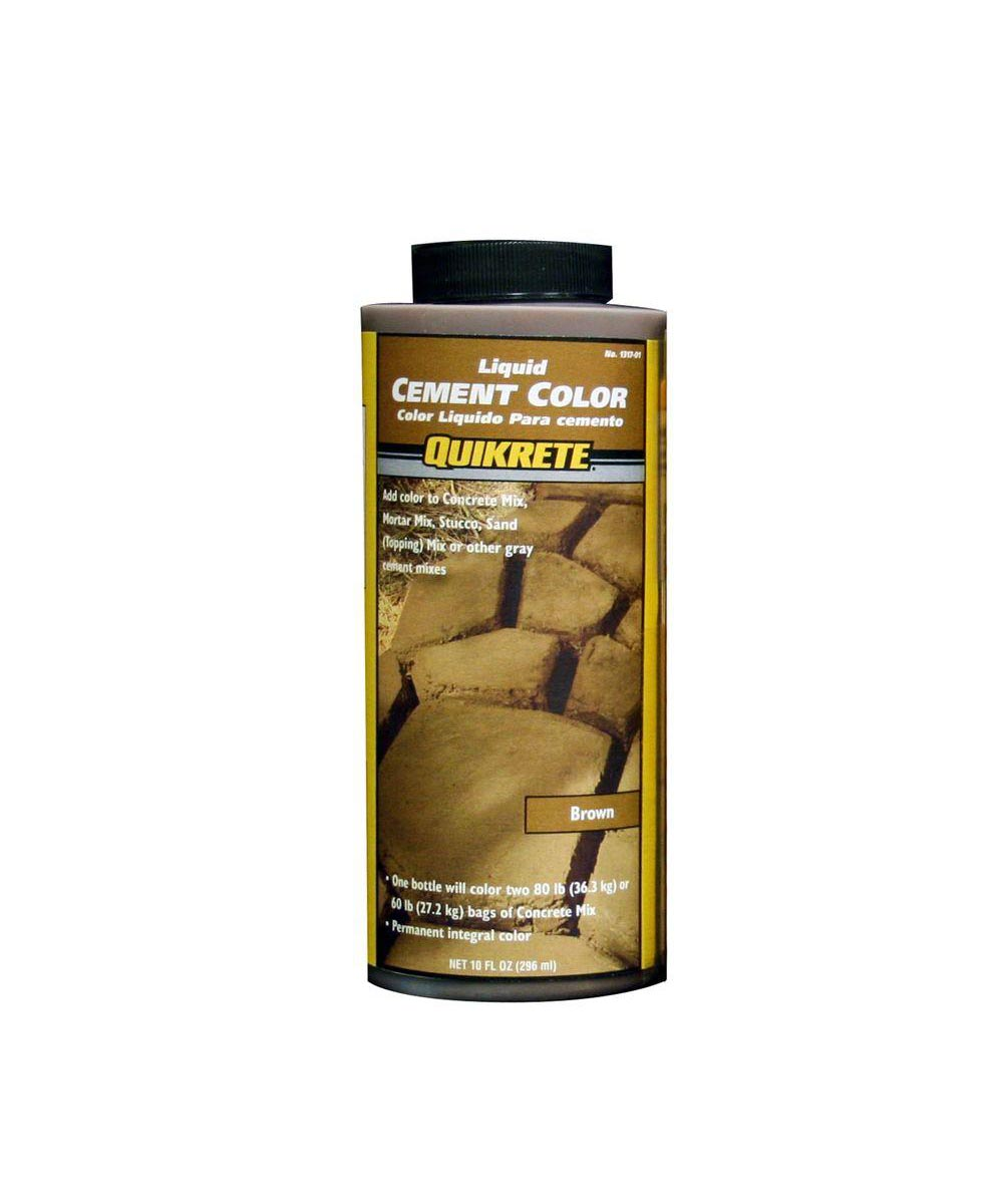 10 oz. Liquid Cement Coloring, Brown