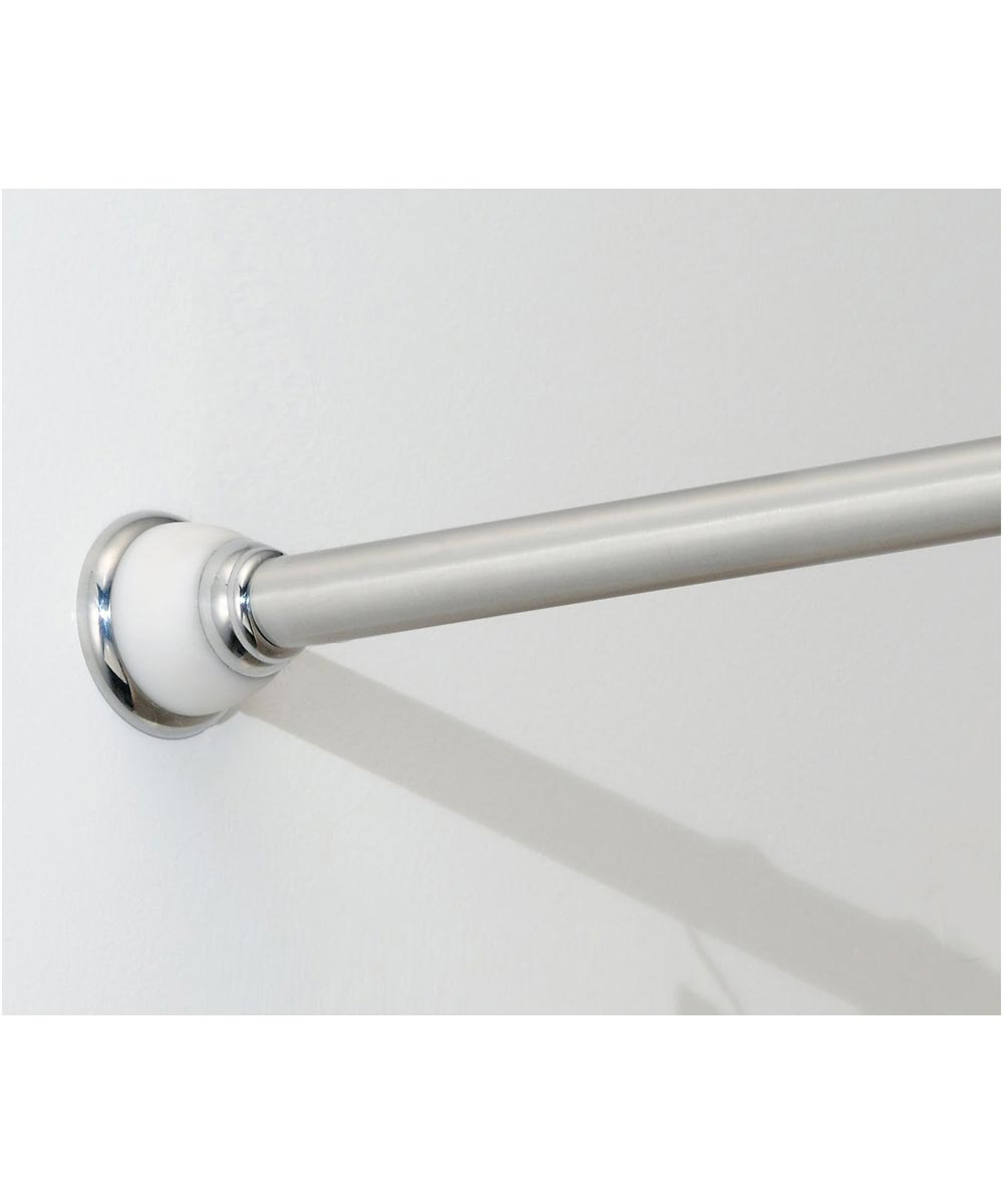50 in. - 87 in. Polished/White  Stainless Steel York Constant