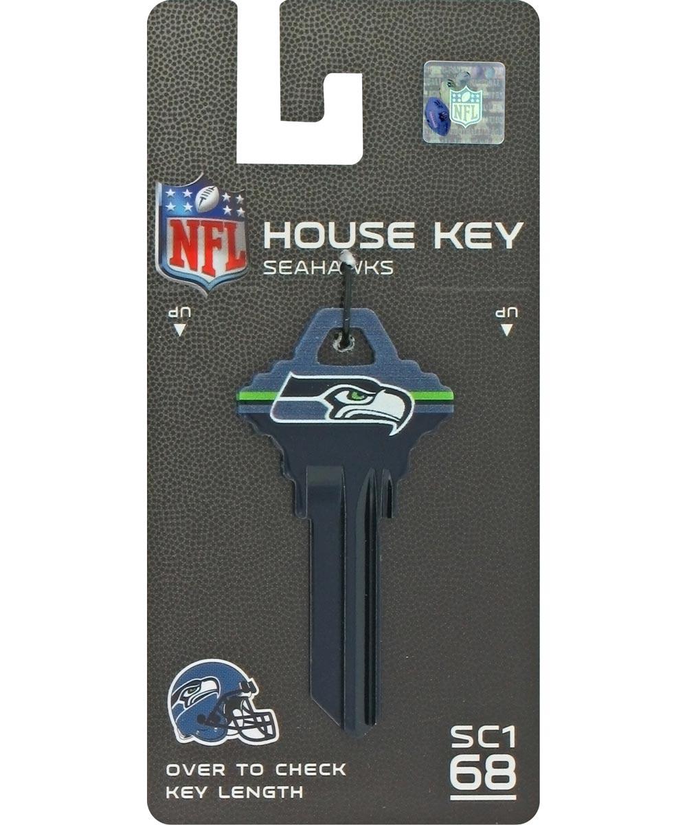 Key Blanks Seattle Seahawks for Most Schlage Locks