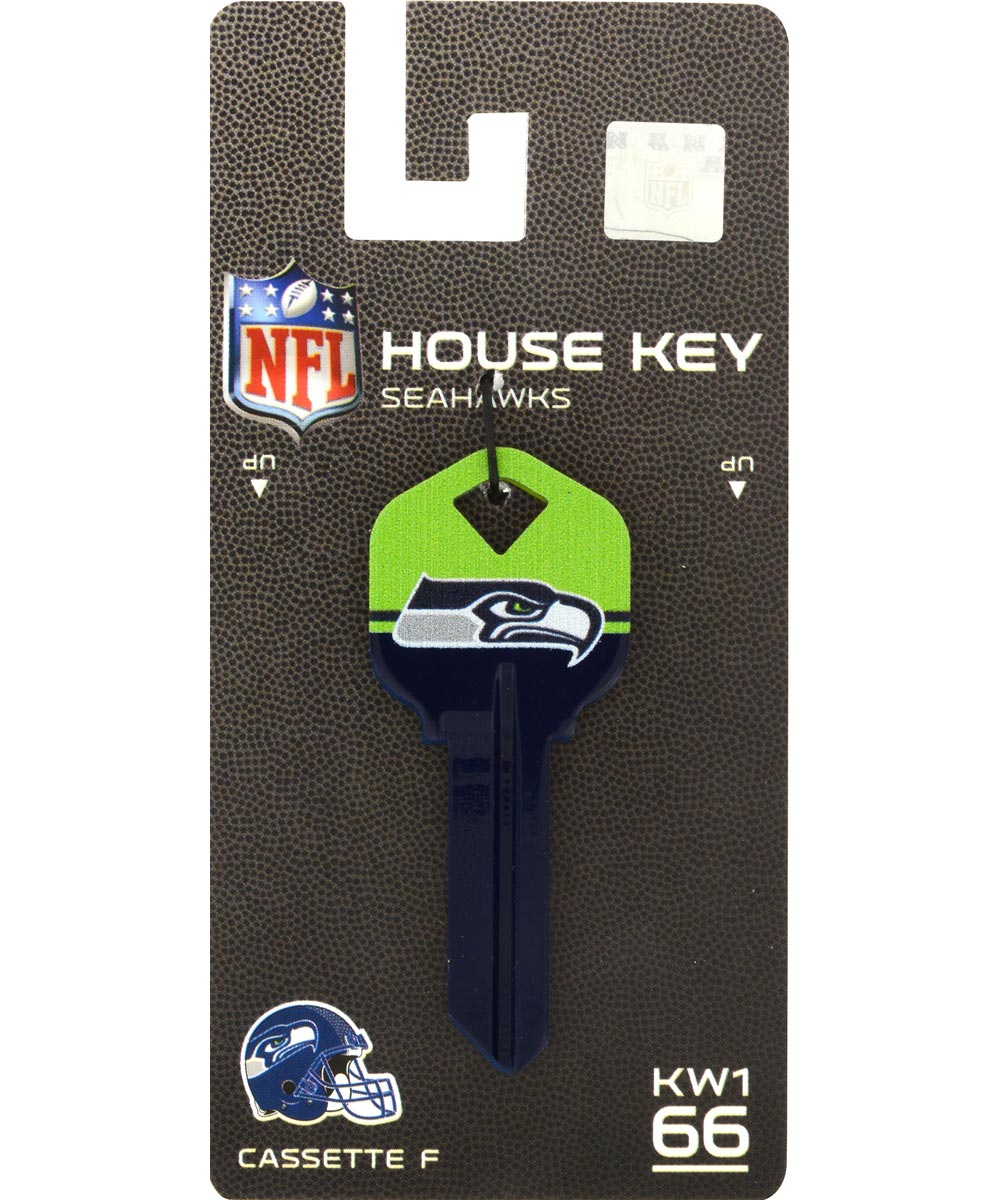 Key Blanks Seattle Seahawks for Most Kwikset Locks