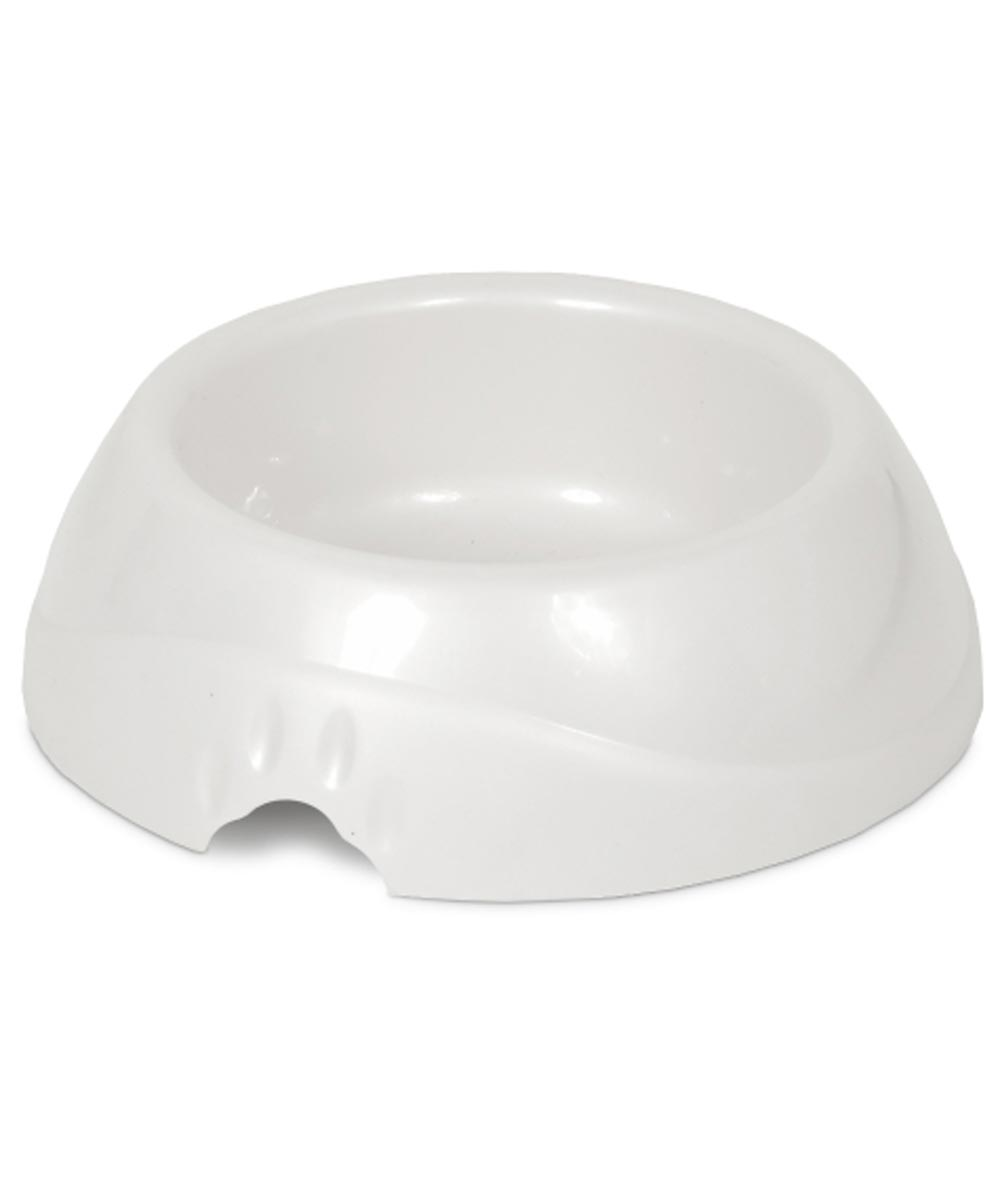 Petmate Small Ultra Lightweight Plastic Pet Dish with Microban, Assorted Colors