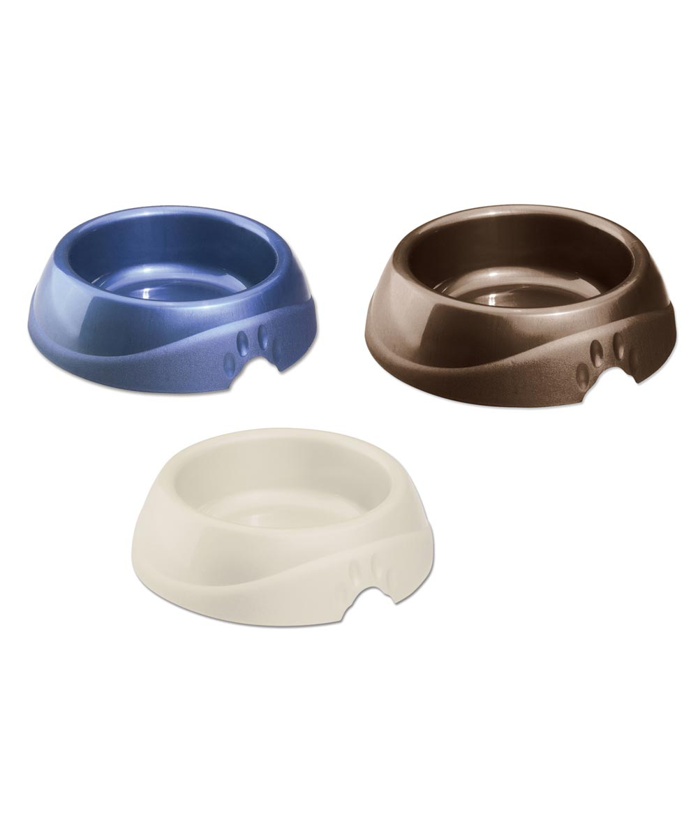 Petmate Large Ultra Lightweight Plastic Pet Dish with Microban, Assorted Colors