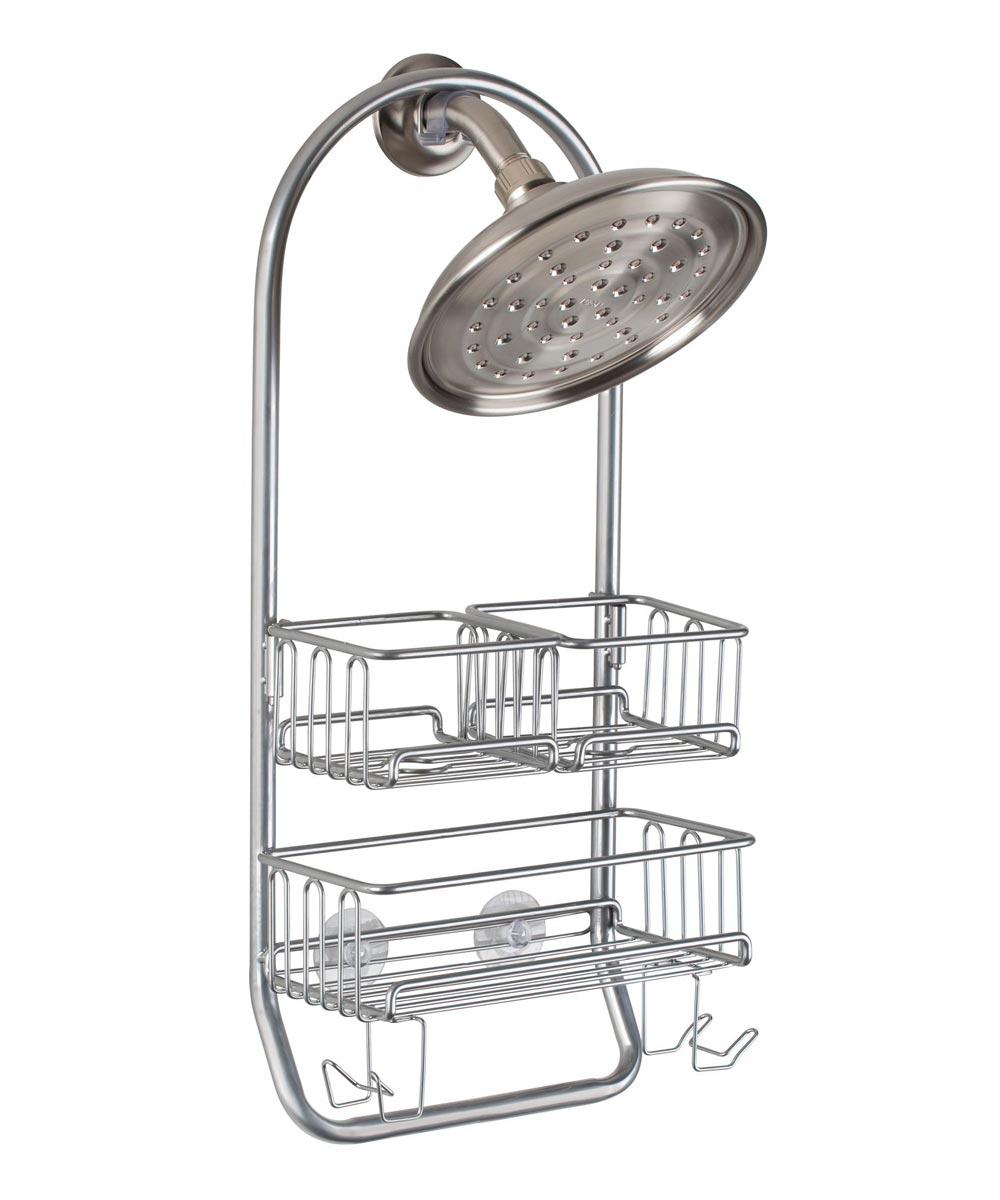 InterDesign Silver Classico Shower Caddy