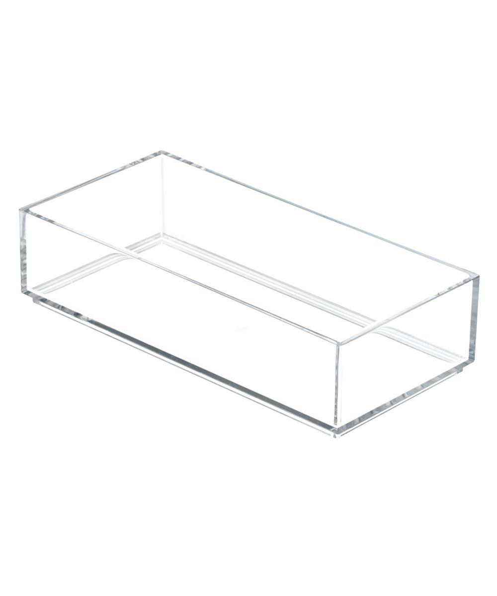InterDesign Clarity 4 in. x 8 in. Drawer Organizer