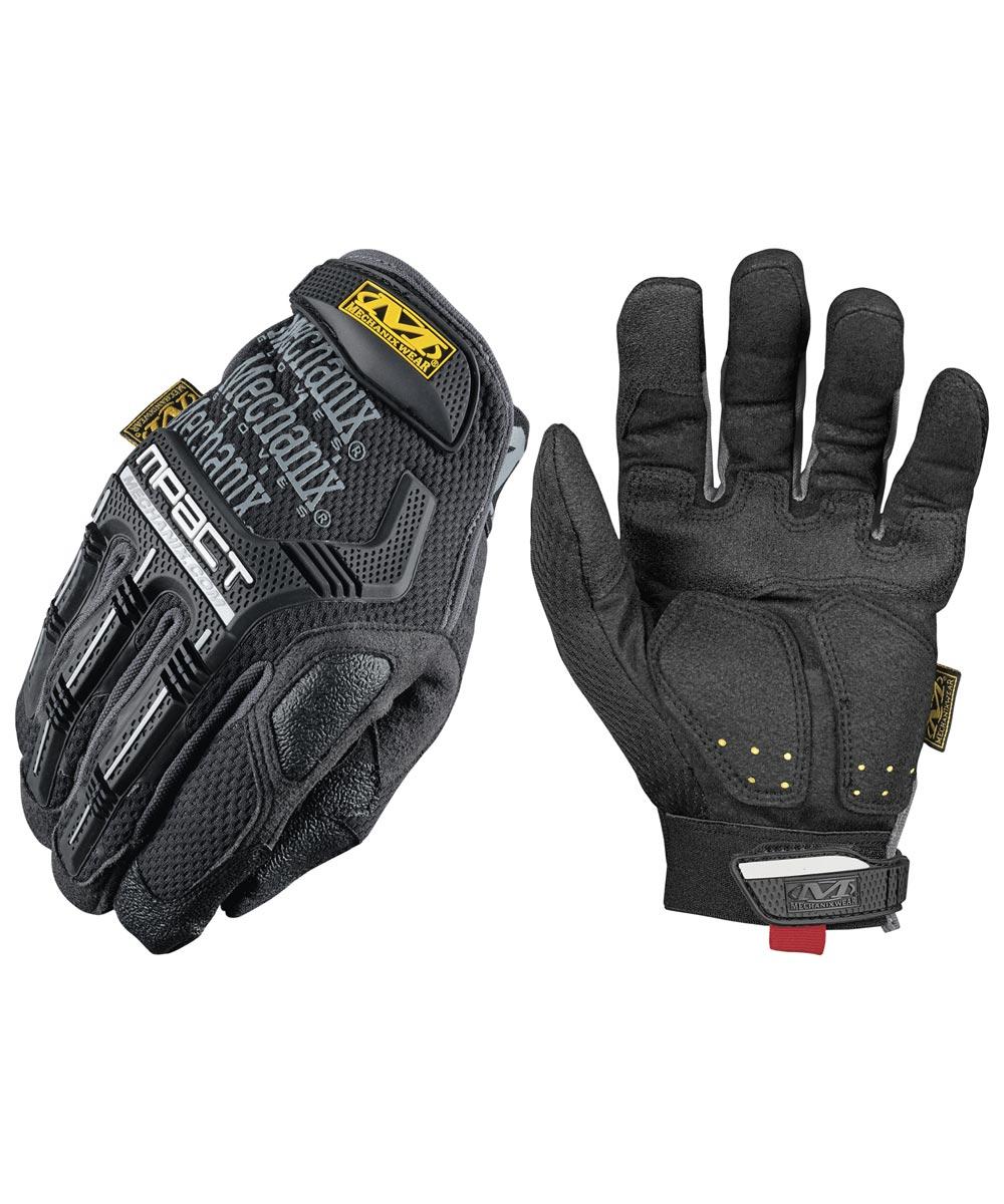 X-Large Black M-Pact Gloves