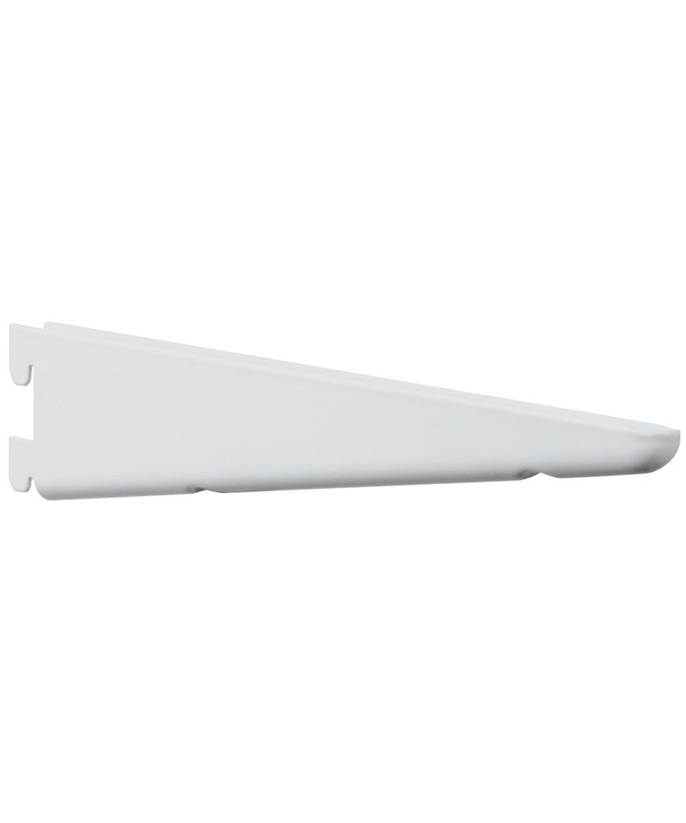 Heavy Duty Twin Slot Bracket, 7 in. (L), White