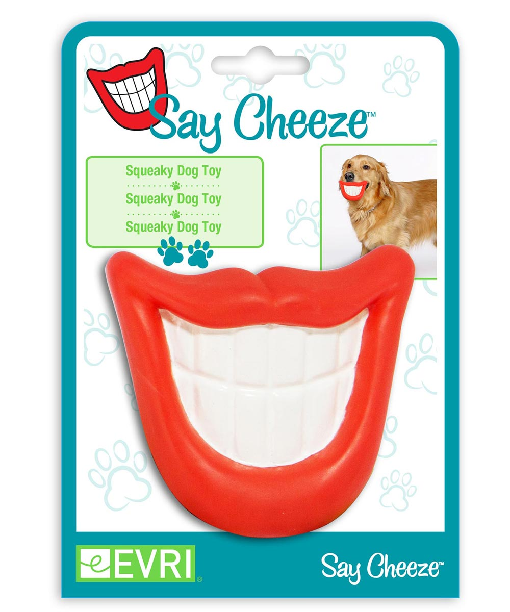 Say Cheeze Dog Toy