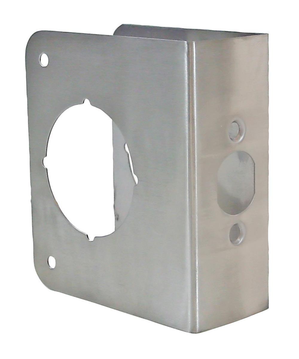 1-3/4 in. x 4-1/2 in. Stainless Steel Finish Door Protector