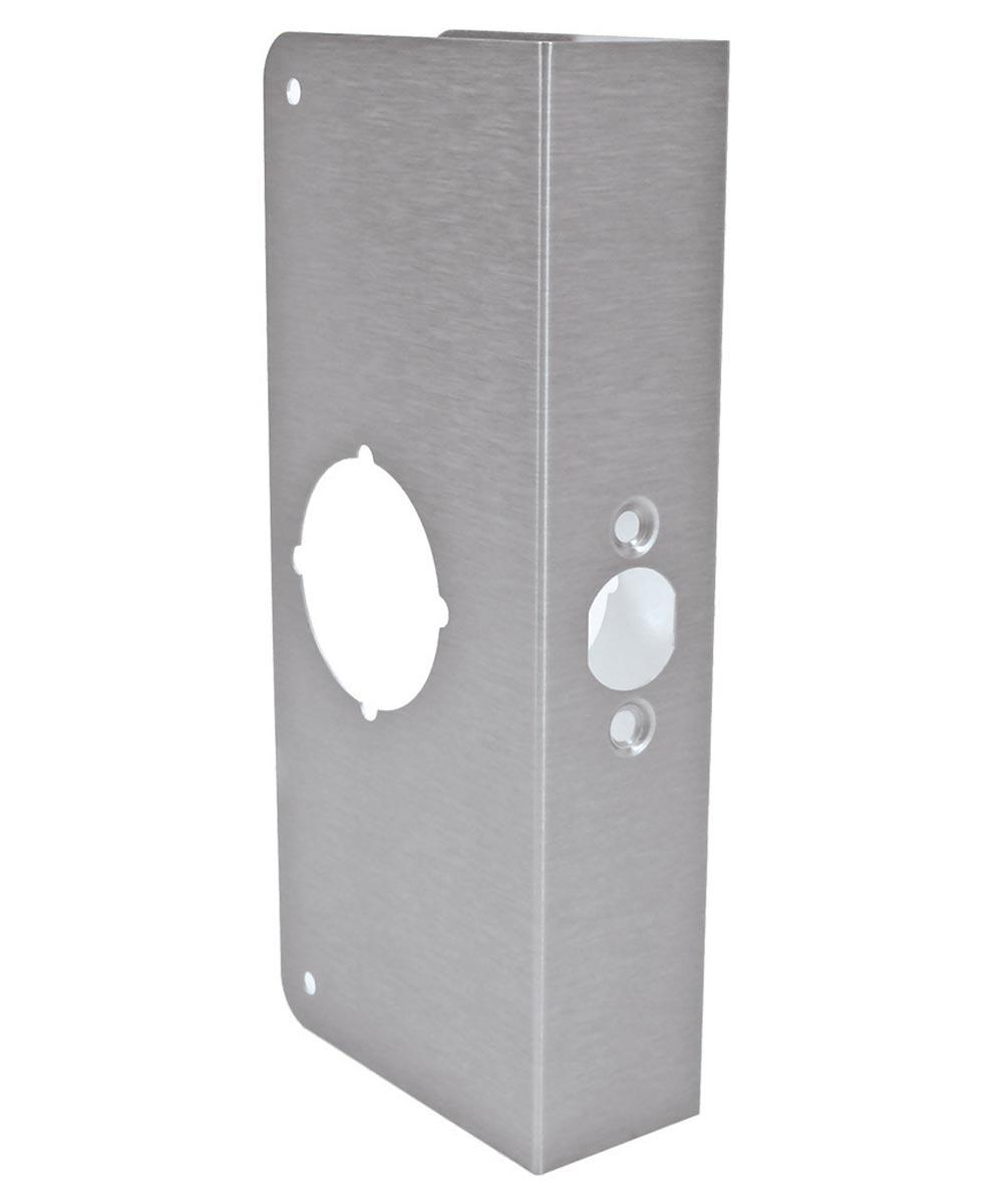 9 in. Stainless Steel Finish Door Protector