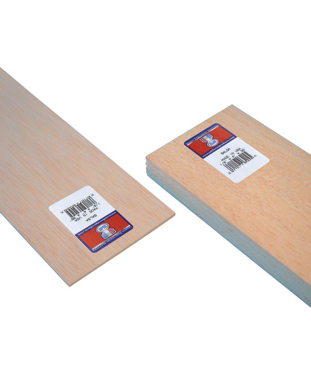 Balsa Wood Sheet 36 In X 4 In X 1 8 In City Mill