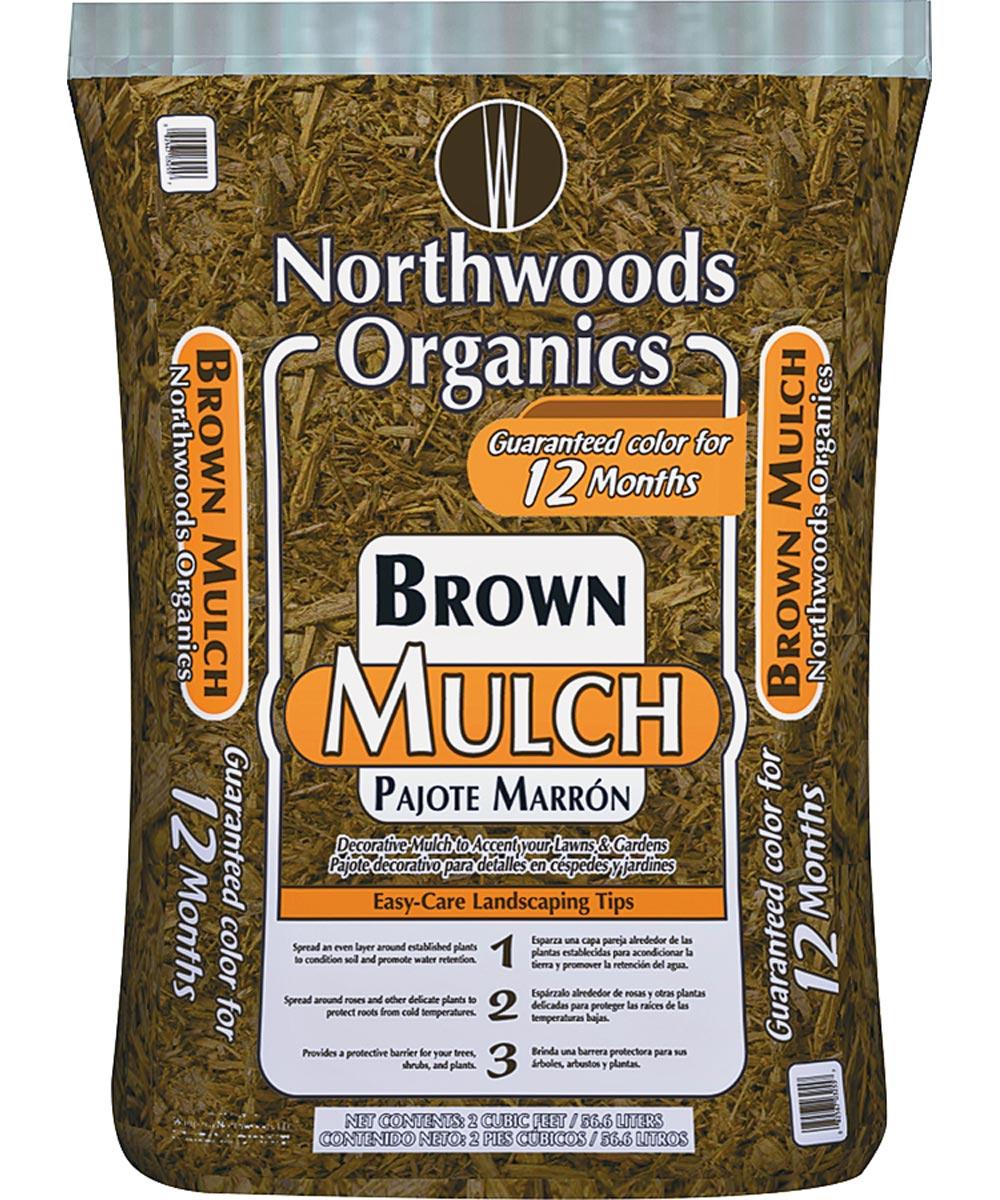 2 cu. ft. Brown Organic Mulch