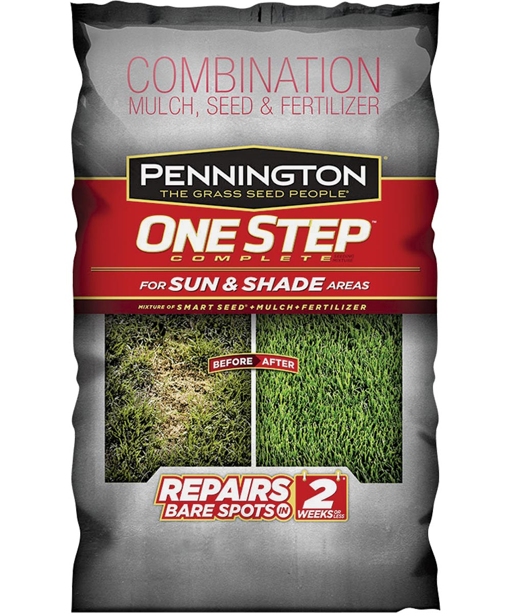 Combination Mulch Seed and Fertilizer, 8.3 lb., Bag, 1 sq-ft For 1 Cup, Medium to Dark-Green