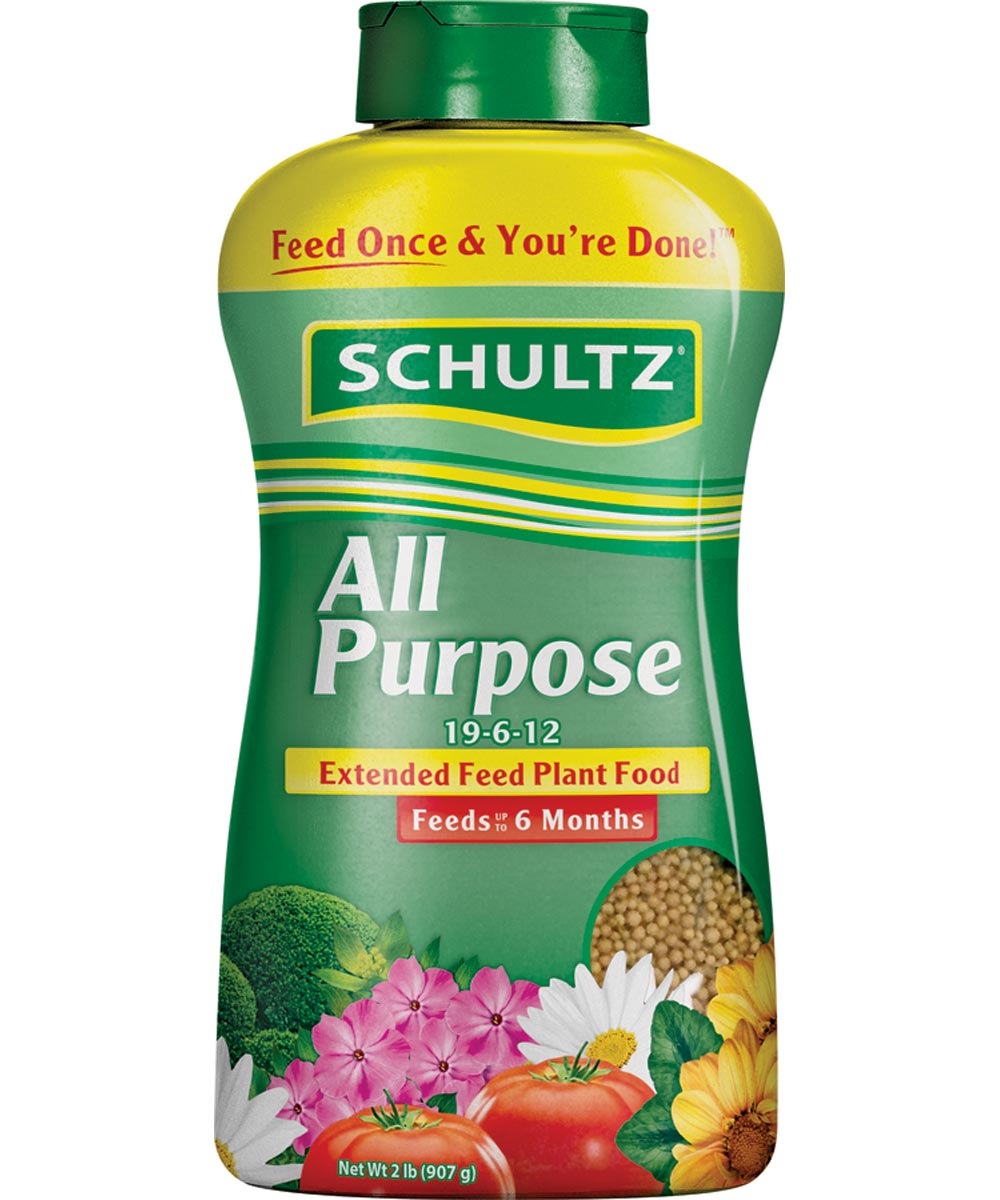 Schultz 2 lb. All Purpose Extended Feed Plant Food, 19-6-12