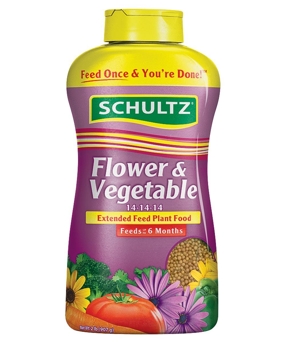 Schultz Slow-Release Extended Feed Fertilizer, 2 lb.