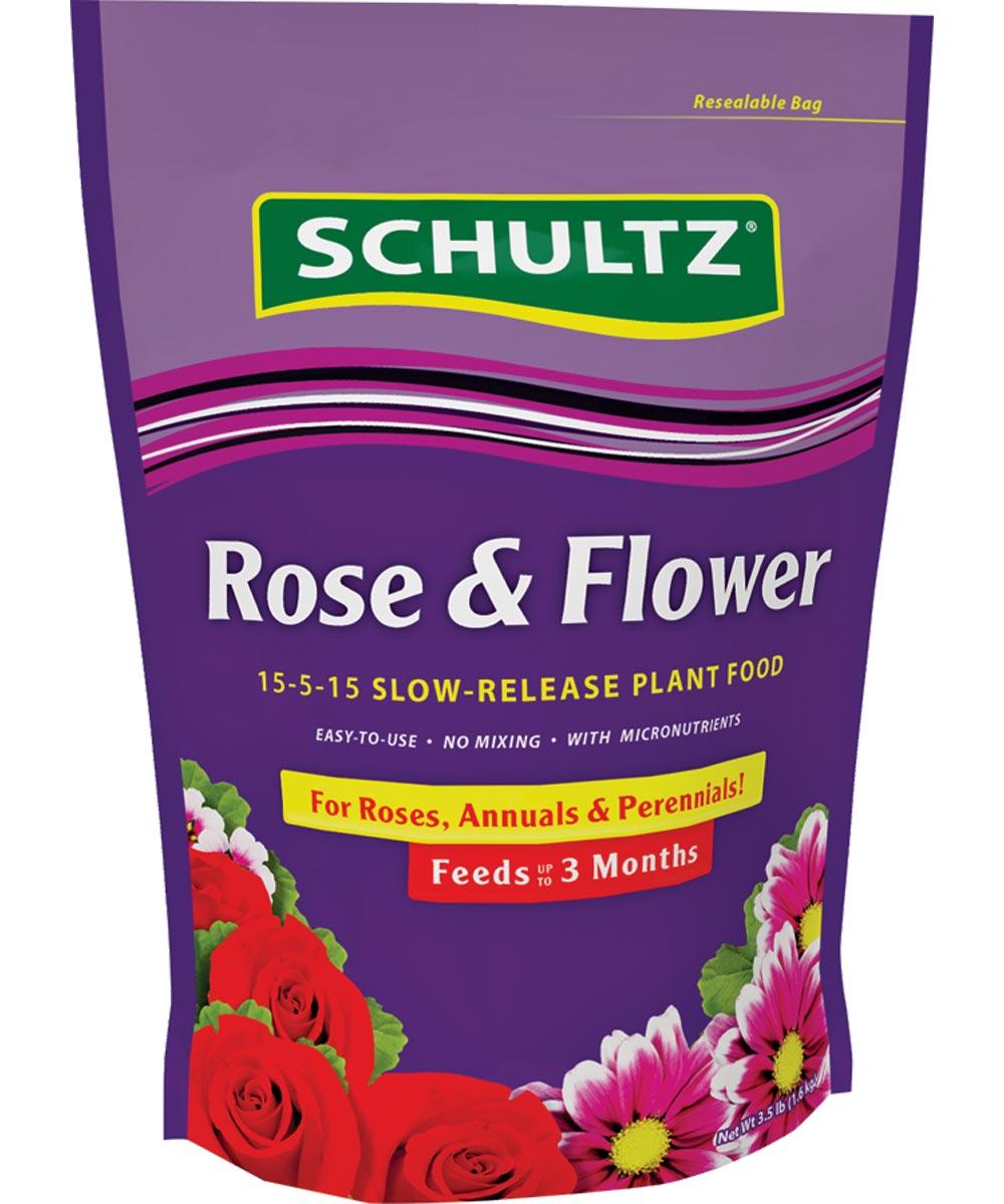 Schultz Slow-Release Rose And Flower Fertilizer, 3.5 lb., Granules