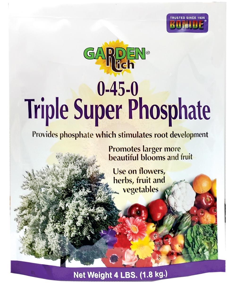 Garden Rich 4 lb. Triple Super Phosphate, 0-45-0