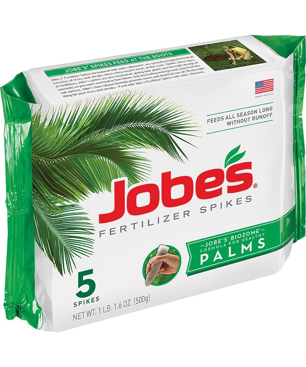 Jobe's Palm Fertilizer Spike, Pack, Gray to Light Brown