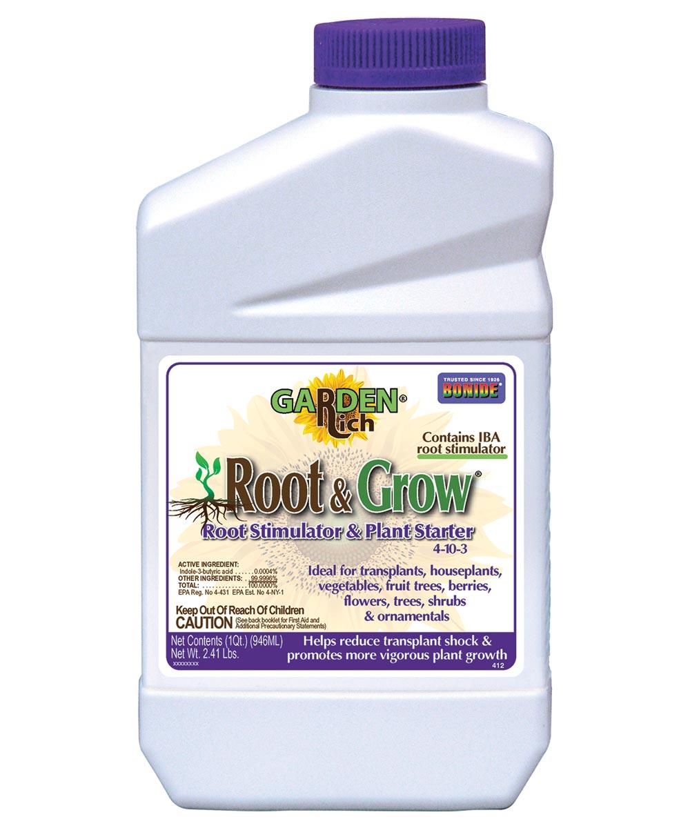 Garden Rich Root & Grow Root Stimulator and Plant Starter, 1 Quart