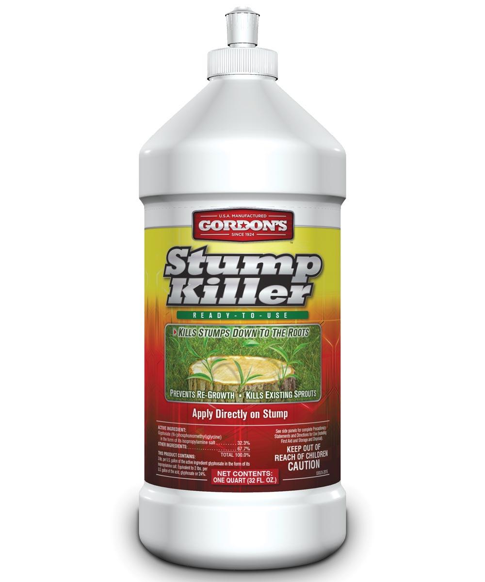 Stump Killer, 32 oz., Squirt Bottle, Clear Yellow, Liquid