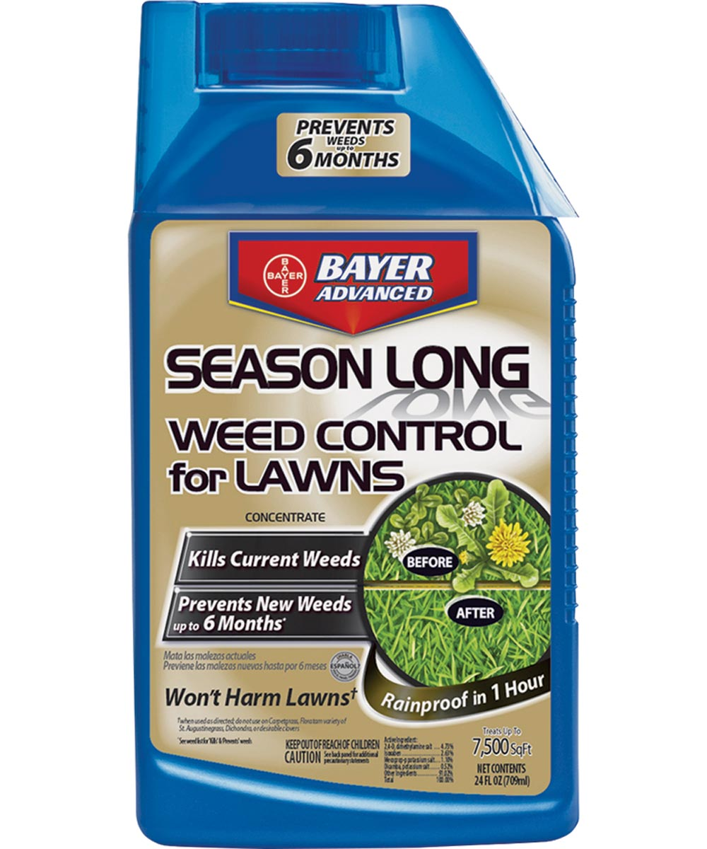 Bayer Advanced Season Long Weed Control for Lawns, 24 oz. Concentrate