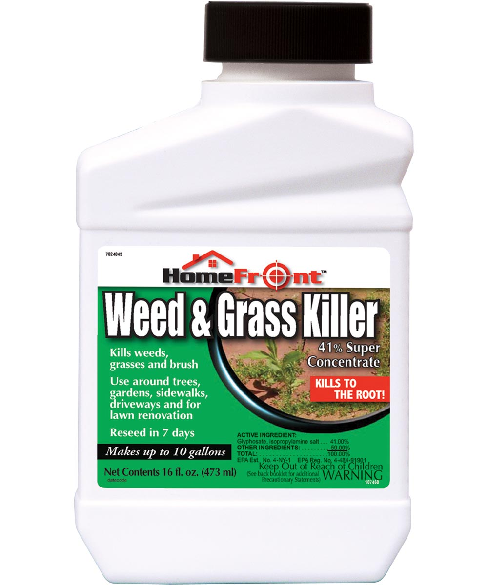 HomeFront Weed & Grass Killer Concentrate, 16 oz.
