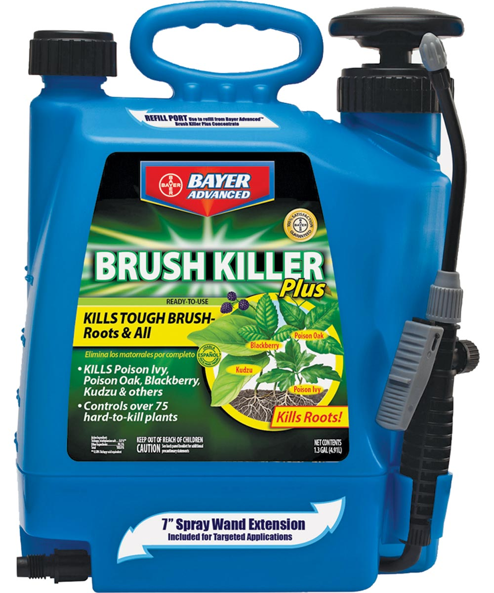 Bayer Advanced Brush Killer Plus, 1.3 Gallons Ready-to-Use with Spray Wand