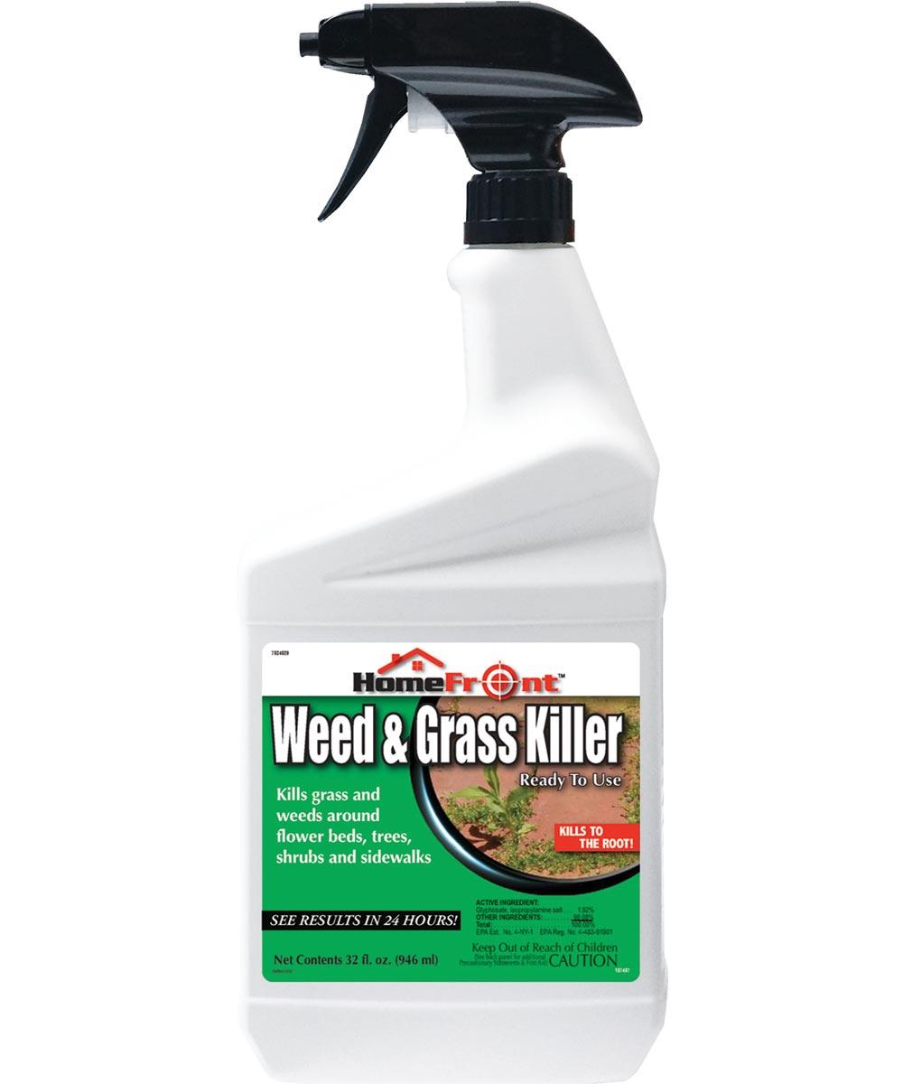 HomeFront Weed & Grass Killer, 32 oz. Spray