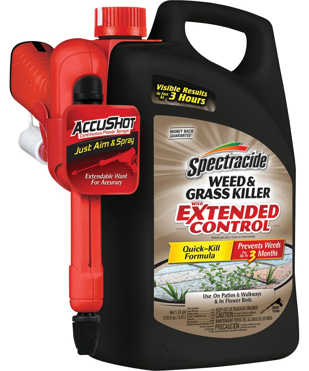 Spectracide Weed and Grass Killer With Extended Control, 170 fl oz.