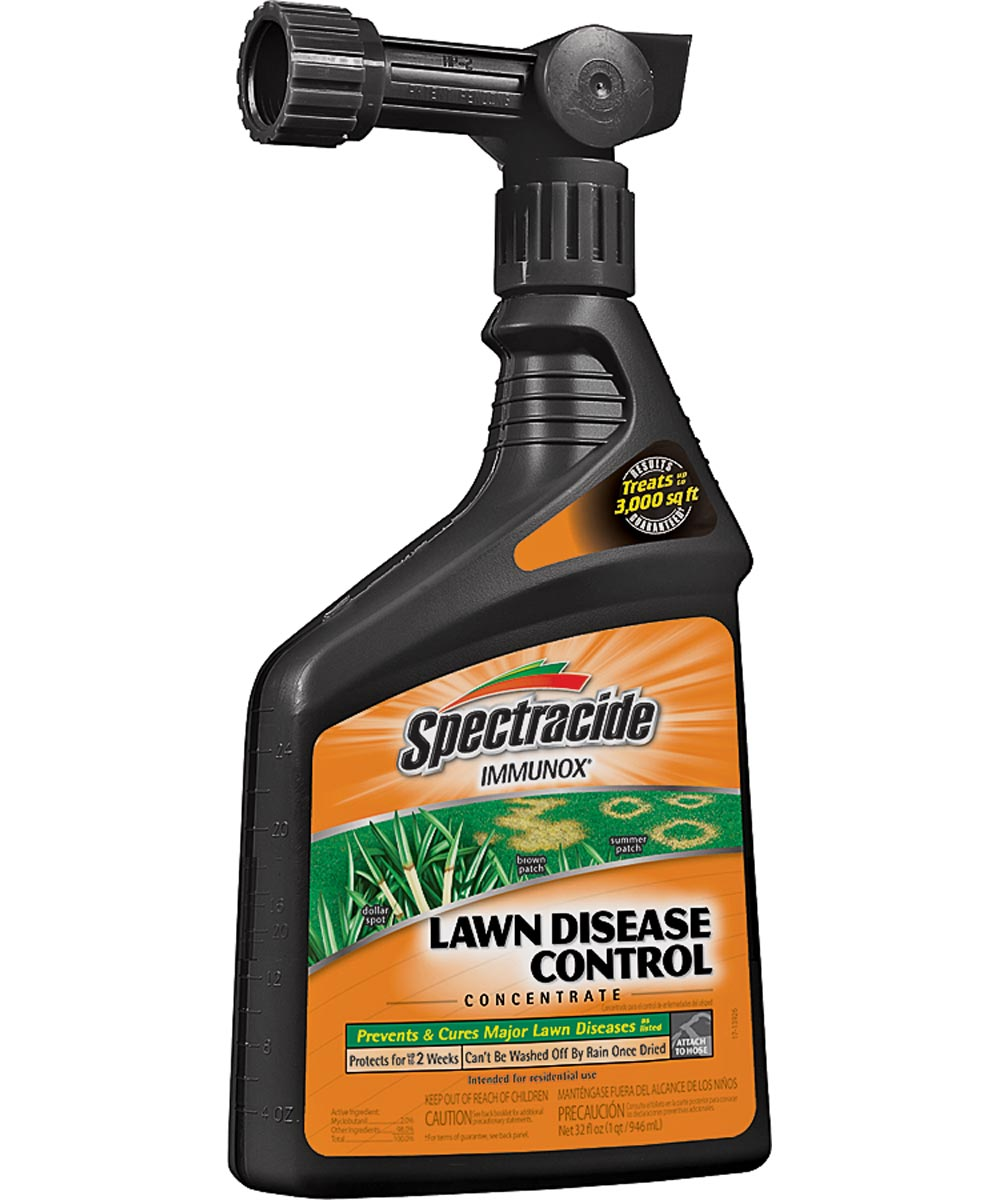 Spectracide Concentrate Ready-To-Spray Fungicide, 32 oz., 3000 sq-ft., Clear/Light Yellow