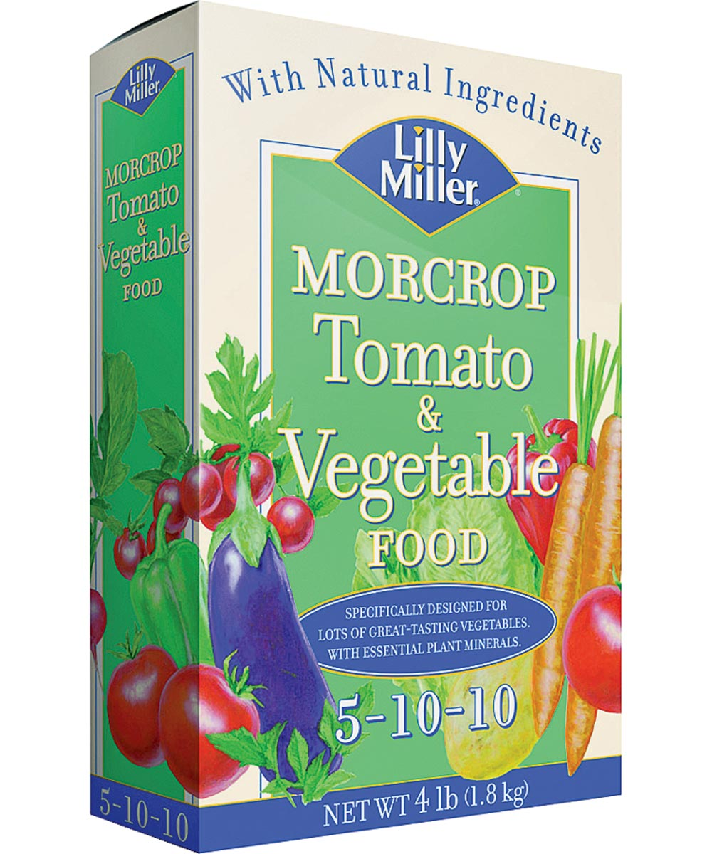 Lilly Miller Morcrop Tomato & Vegetable Food 5-10-10, 4 lbs.