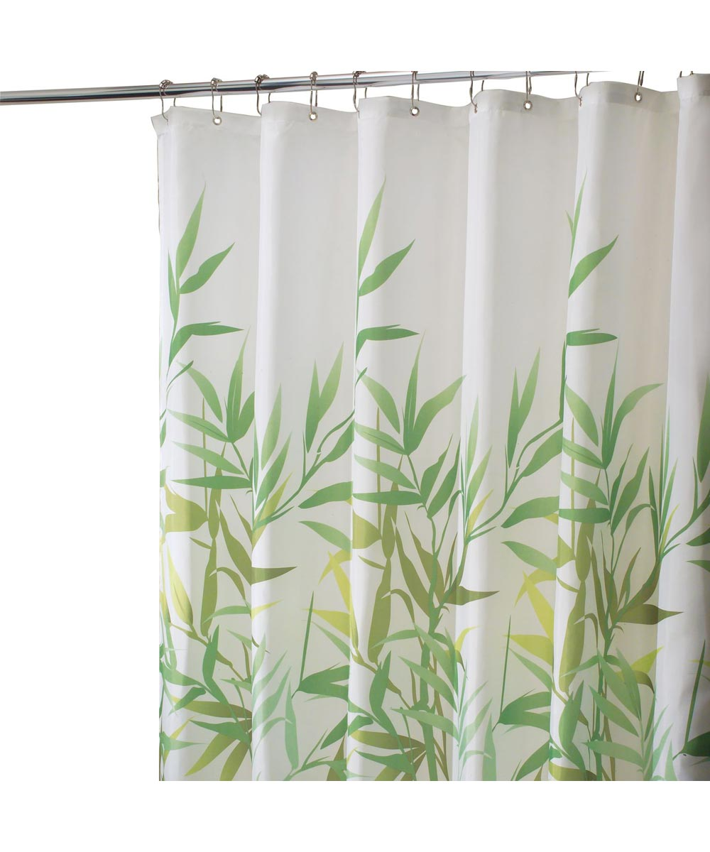Shower Curtain 72 in. Poly Grn Anzu
