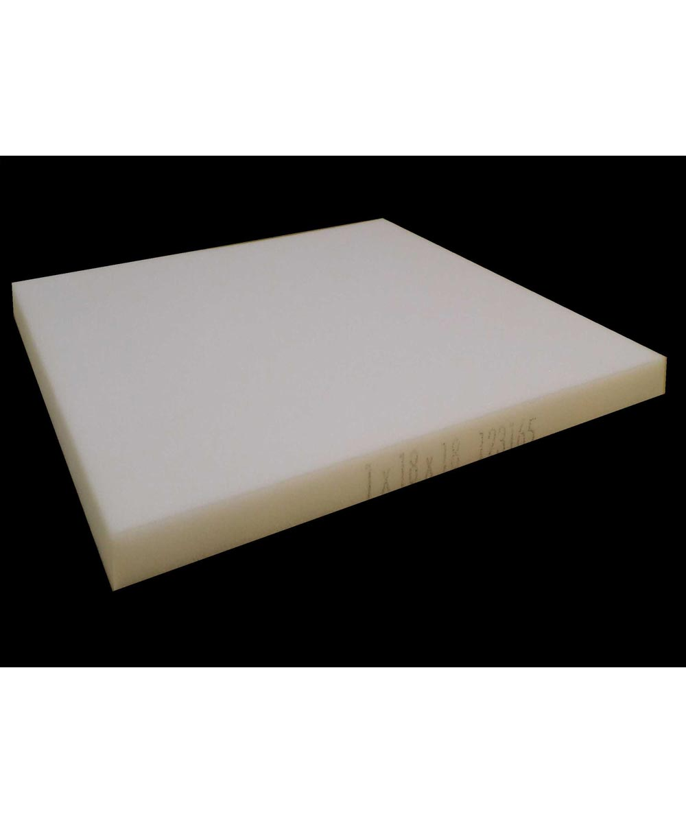 1 in. x 18 in. Square Polyurethane Foam