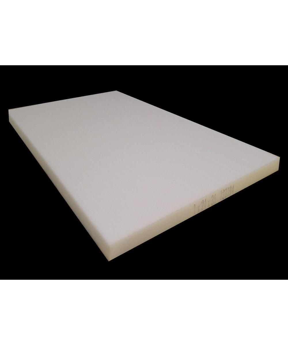 1 in. x 24 in. x 36 in. Rectangle Polyurethane Foam