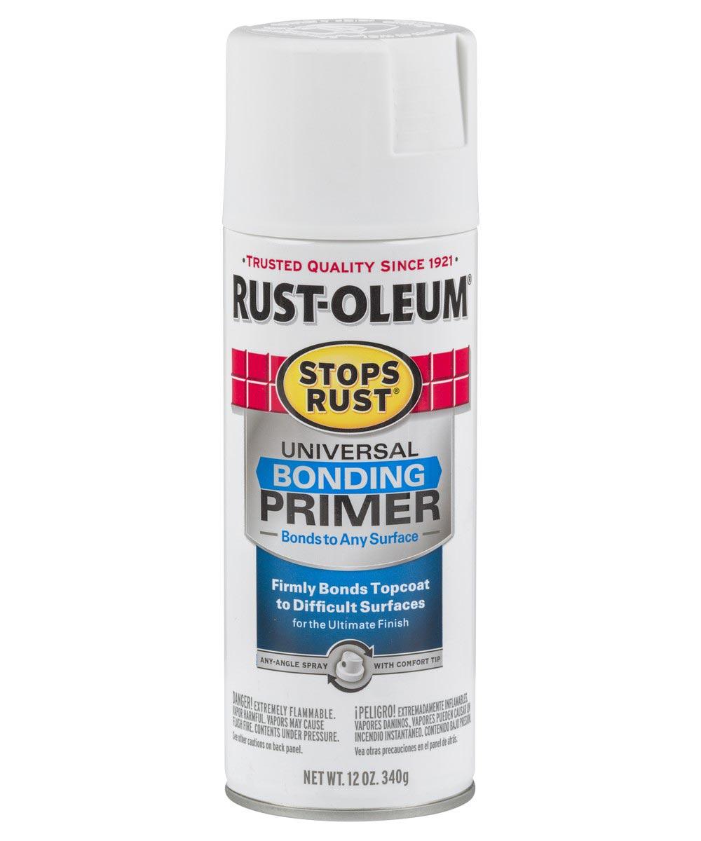 Stops Rust Universal Bonding Primer, 12 oz Spray Paint, White
