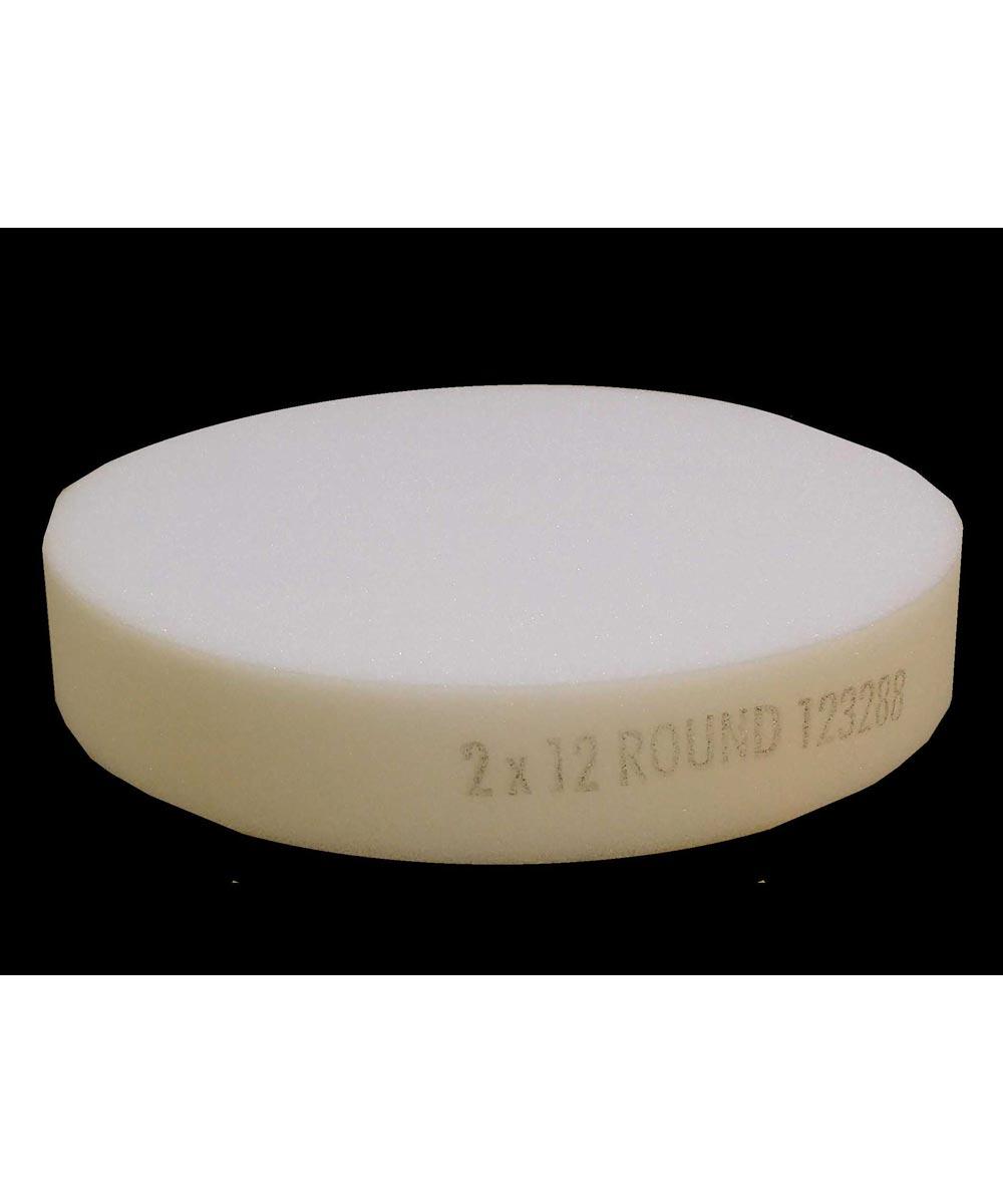 2 in. x 12 in. Round Polyurethane Foam